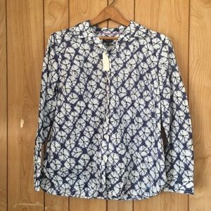NWT Talbots button up